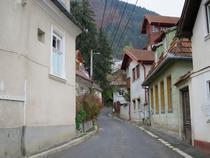 Strada din Scheii Brasovului