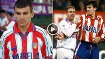 Daniel Prodan, pe vremea cand imbraca tricoul celor de la Atletico Madrid