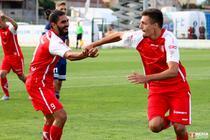 Adrian Petre a marcat patru goluri pentru UTA Arad