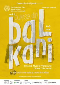 Afis Culese din Balkani