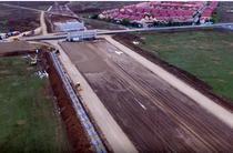 Autostrada A3 la intrarea in Bucuresti