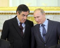 Francois Fillon si Vladimir Putin