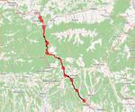 Traseul autostrazii Sibiu - Pitesti