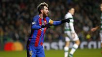 Lionel Messi, dubla contra lui Celtic