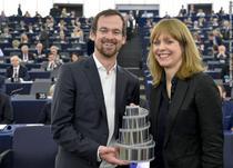 Maren Ade si producatorul Jonas Dornbach