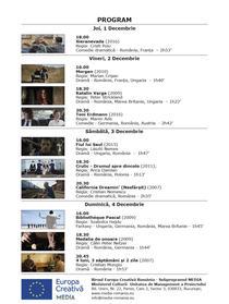"""""""Filmele LUX. 10 pentru 10"""" - Program"""