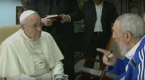 Papa Francisc si Fidel Castro