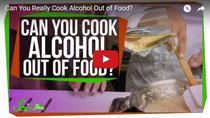Cum se evapora alcoolul din preparatele culinare