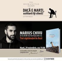 'Trei saptamani in Anzi' cu Marius Chivu