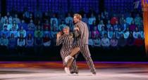 Tatiana Navka si Andrei Burkovski, dansand in emisiunea Ice Age