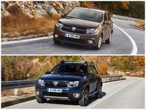 Dacia Sandero SCe 75 si Dacia Duster dCi 110 EDC