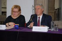 Corina Suteu si Ernest Oberlander Tarnoveanu