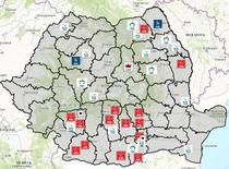 Harta candidatilor penali la parlamentare