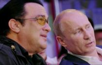 Steven Seagal a primit de la Vladimir Putin cetatenia rusa