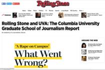 Raportul privind publicarea materialului fals de catre Rolling Stone