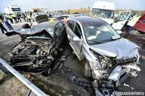 Accident pe drumurile din Romania