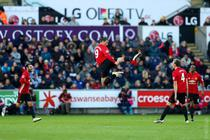Zlatan Ibrahimovic, dubla pentru Manchester United