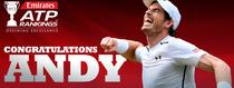 Andy Murray, numarul unu in lume