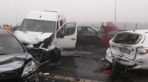 Accident pe autostrada