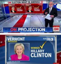 Exit poll CNN