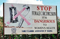 Campanie pentru stoparea mutilarii genitale a femeilor
