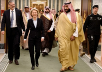 Ursula von der Leyen nu a purtat hijab in Arabaia Saudita