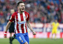 Saul Niguez, executie superba pentru Atletico Madrid