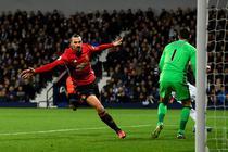 Zlatan Ibrahimovic, dubla impotriva lui West Bromwich Albion