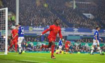 Sadio Mane a inscris unicul gol al meciului dintre Everton si Liverpool