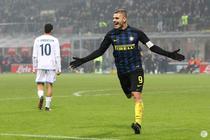 Mauro Icardi a reusit o dubla pentru Inter