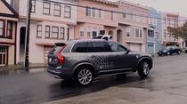 Un Volvo XC 90 testat de Uber