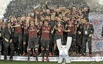 AC Milan si trofeul Supercupei Italiei