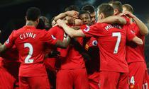 Liverpool, victorie cu Stoke City