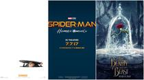 Beaty and the Beast, Despicable Me 3 si Spider-Man: Homecoming