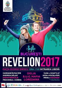 Revelion: Selfie de Bucuresti