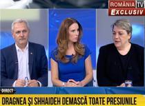 Liviu Dragnea si Sevil Shhaideh, la RTV