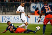 PSG, invinsa cu 3-0 de Montpellier