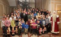 Igor Dodon a decorat familii cu multi copii