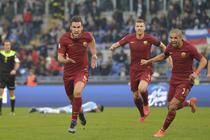 Strootman a deschis scorul pentru AS Roma