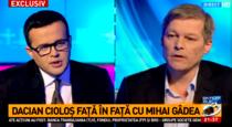 Mihai Gadea si Dacian Ciolos