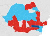 Harta cautarilor pe Google - partide politice in ultima saptamana de campanie
