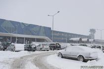 Aeroportul Otopeni iarna