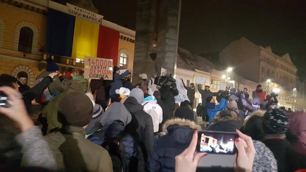 Protest impotriva Avocatului Poporului