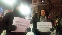 Protestatari impotriva lui Ciorbea