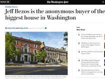Casa lui Jeff Bezos din Washington