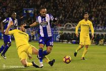 Florin Andone, in meciul cu Villarreal