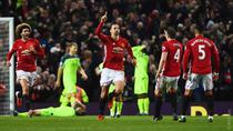 Zlatan Ibrahimovic a salvat un punct pentru Manchester United