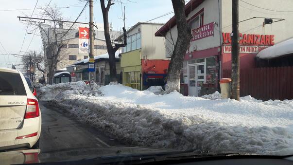 Intersectie blocata