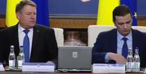 Klaus Iohannis si Sorin Grindeanu