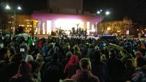 Protest impotriva legii gratierii - Pta Universitatii 5